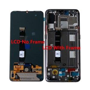 """Image 2 - 6.39 """"oryginalna Supor Amoled M & Sen dla Xiao mi 9 Mi9 mi 9 ekran wyświetlacz LCD + Digitizer Panel dotykowy dla MI 9 Explorer wyświetlacz rama"""