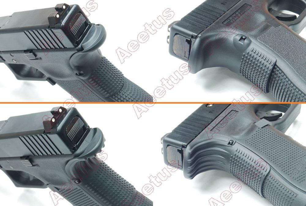 1Pair Tactical Grip Force Gen 1 2 3 Glock BeaverTail Adapter For ...