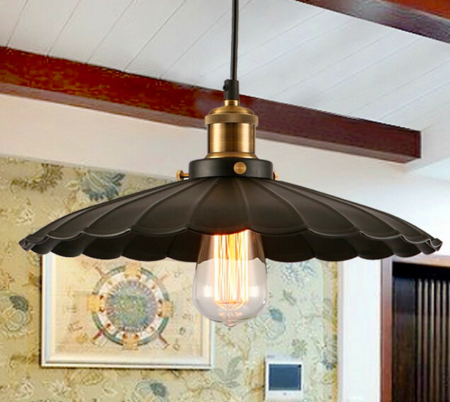 ФОТО E27 40W Single Head Balcony Lamp Retro Industrial Droplight Edison lights chimney pendant lamp for dinning room 110-240V