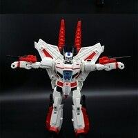Lensple 25cm G1 Transformation Jetfire Skyfire IDW LG07 Reconnaissance Aircraft Mode Leader KO Action Figure Robot Colection Toy