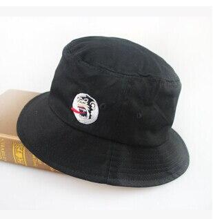 horrible monkey brand fishman caps hip hop women bob men polo bucket hats  bob chapeau black camping hiking hunting bucket hat b7de7b80bc7
