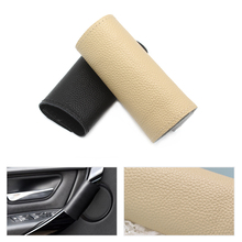 Genuine Leather Door Panel Handle Pull Trim Cover Inner For BMW New 3 Series 3gt 4 F30 320