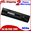 JIGU 10.8V 5200MAH New Laptop Battery For HP Enyy 14 Enyy 15 Enyy 17 Batteries PI06 PI09 HSTNN-UB4N 710416-001 Free shipping