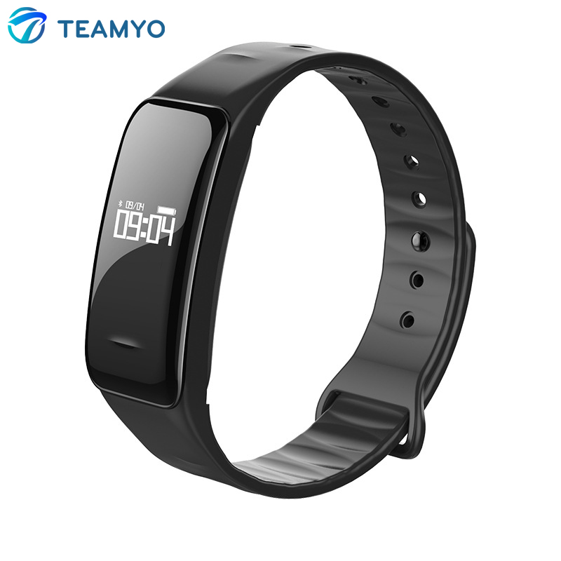 New Bluetooth Smart Bracelet C1 Wrist Band With Heart Rate Blood Pressure IP67 W