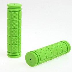 Kolorowe miękkie guma kierownica pokrywa rączka rowerowa rękawiczki w Uchwyty rowerowe od Sport i rozrywka na