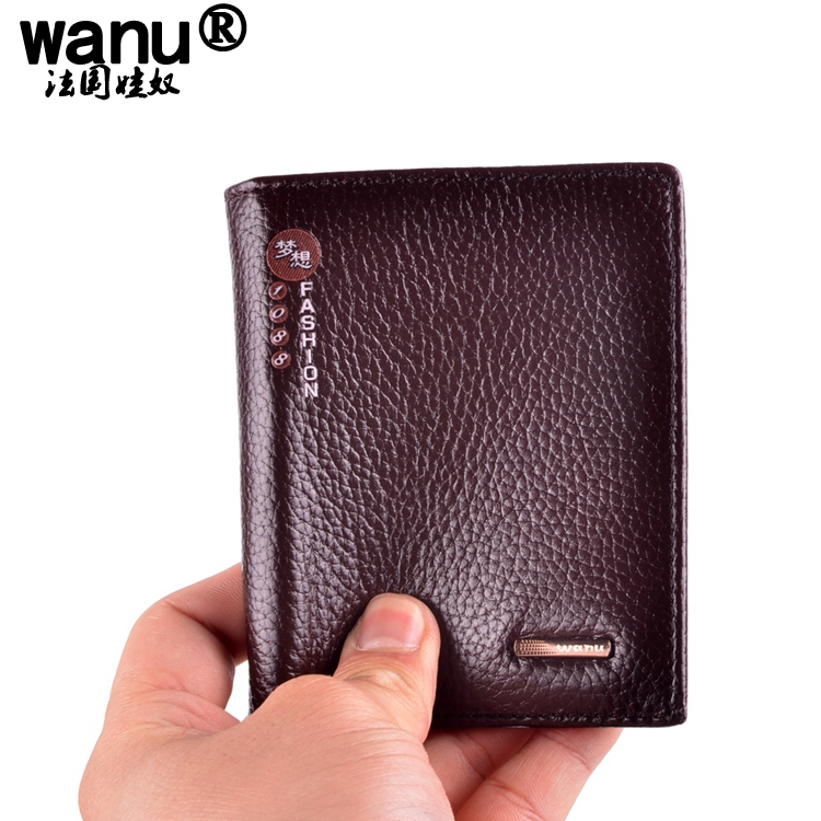 9Man Wallets 100% Genuine Cow Leather mans Purses Boy Coin Pocket Red Long Wallet Male Clutch Bag For Boyfriend Gift