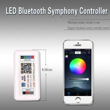 WS2811 LED Strip Controller RF Bluetooth APP RGB LED Light 5050 Controller DC 5V 12V 24V Music Controller WS2812 WS2812B 433Mhz цены онлайн