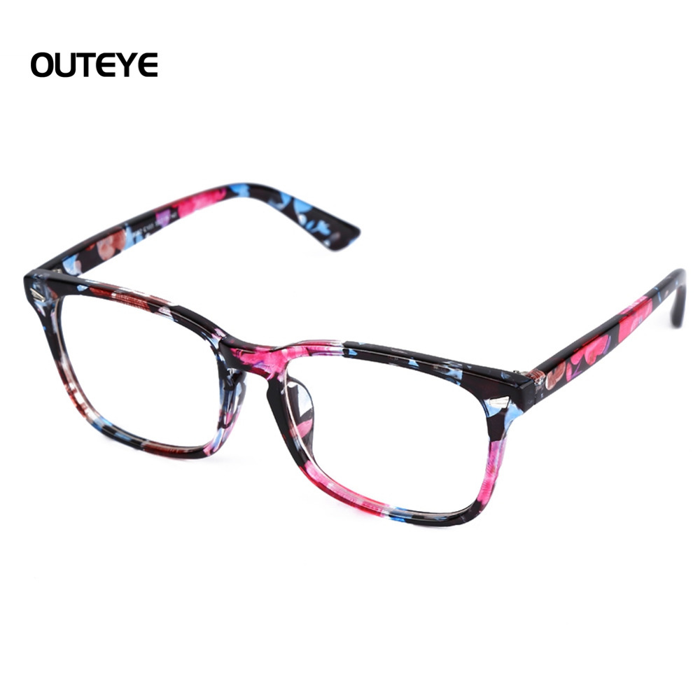 OUTEYE 9Color Hot optical myopia glasses clear lens eyewear nerd ...