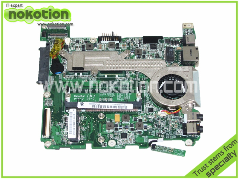 DA0FL2MB6C0 REV C FOR LENOVO ideapad S10-3T Tablet laptop Motherboard DDR2 TOUCH SCREEN mainboard