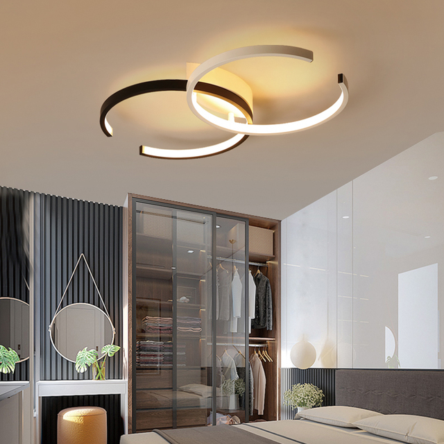 Bedroom Light Minimalist Modern Led Ceiling Lamp Flower Shape Personality Creative Atmosphere Art Children S Room Lamps And L