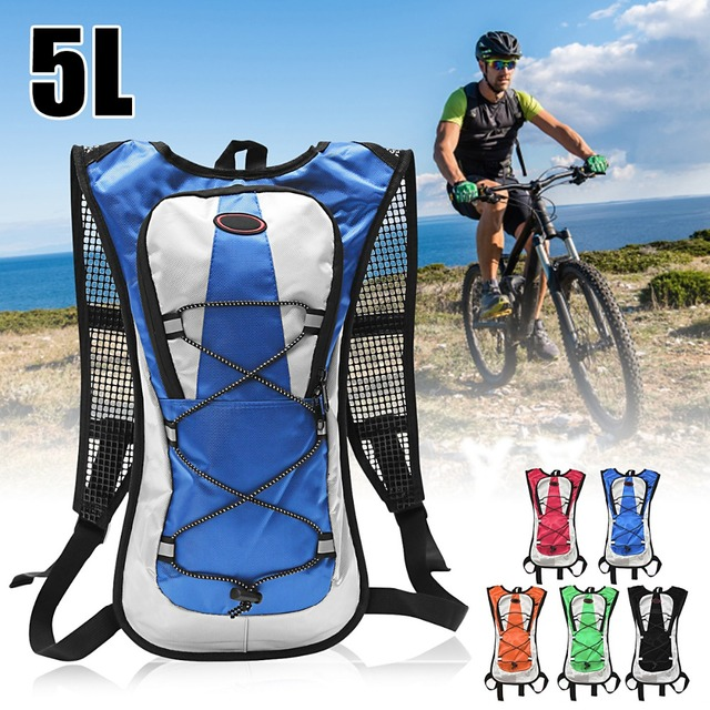 b136b7519c 5L Outdoor Cycling Hydration Backpack 2L Water Bladder Bag Mountaineering  Water Bags Climbing Camping Hiking Bike Camelback