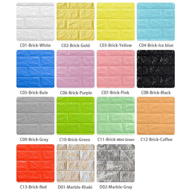 DIY Adesivos de Parede 1 pc/5 pcs 3D Mármore Mosaico de Casca e de Auto-adesivo Papel De Parede Da Cozinha Do Banheiro À Prova D' Água home Da Parede Adesivo Decalque