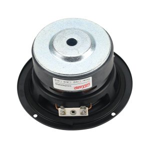 Image 3 - GHXAMP 4 inch 40W Round Subwoofer Speaker Woofer High power BASS Home Theater 2.1 Subwoofer Unit 2 Crossover Louspeakers DIY 1PC