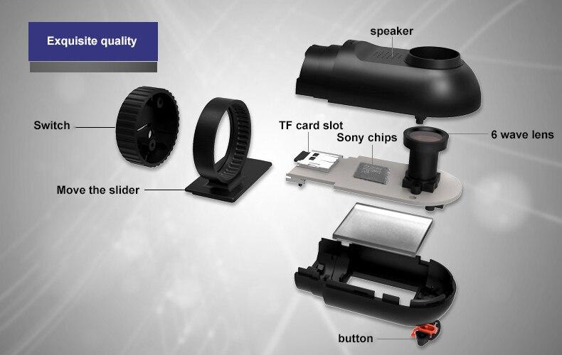 Original Podofo  Mini Car DVR Camera Dashcam Full HD 1080P Video Registrator Recorder G-sensor Night Vision Dash Cam Blackbox10