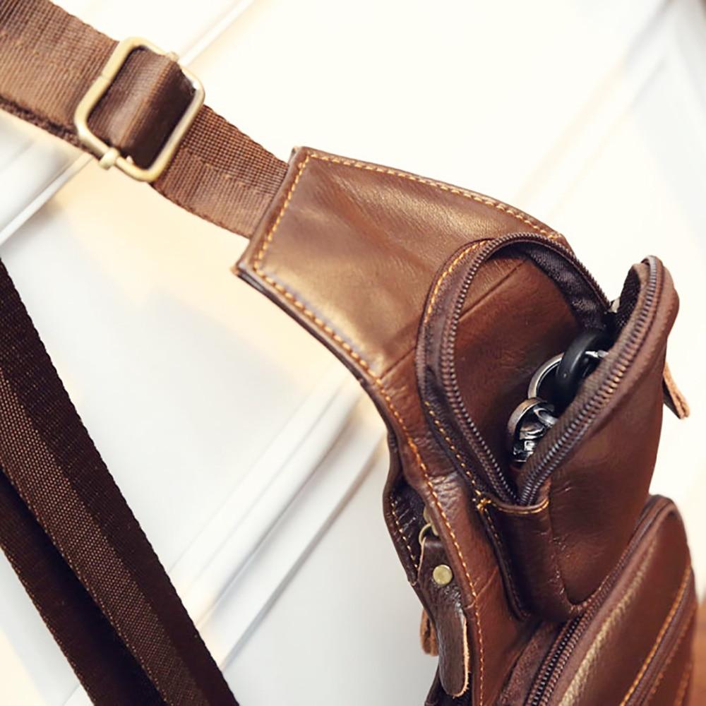 genuíno couro de couro do Suitable For : Travel/hiking/camping/riding/casual Bag