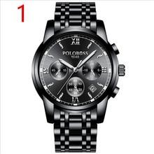 Бренд 2019, роскошные мужские деловые кварцевые часы, показывает manliness.59