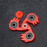 Newest Style Tri-Spinner Fidget Toy Plastic EDC Hand Spinner For Autism and ADHD Finger Funny Toys For Children Top Spinner Toy
