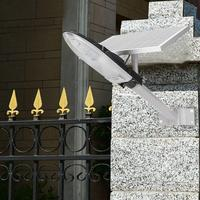 Wall Lamp Sensor Light Solar Powered 30W Light Control LED Sconce Wall Lamp for Garden Road Corridor Outdoor