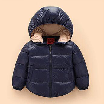 Children Clothing Girls Boys Down Jacket 18 Months - 5 Years Months Warm Waterproof Winter Coat Christmas Kids Outwear