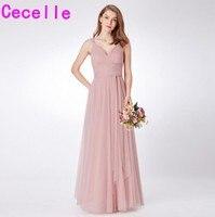 lowest price 829b4 4ea82 Pink Bridesmaid Dress For Bridesmaids Vendita online