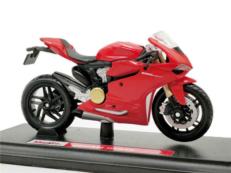 Maisto 1:18 دوكاتي 1199 Panigale دراجة نارية دييكاست لعبة مجسمة جديدة في صندوق
