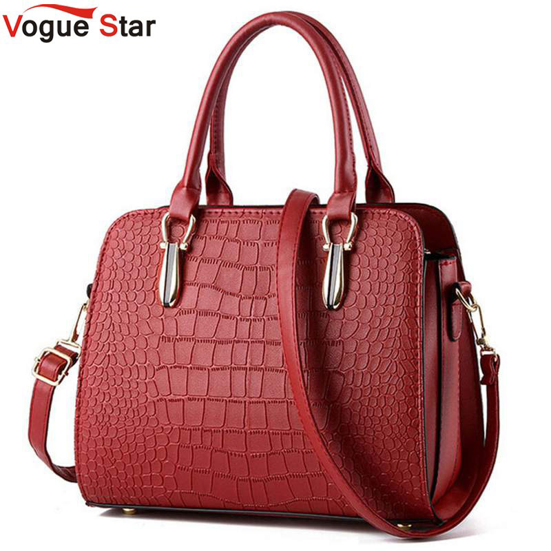 Vogue Star 2017 Hot women handbag crocodile style leather handbag  messenger bag shoulder bag high quality bolsas pouch YB40-431