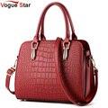 Vogue Star 2017 Горячих женщин сумки крокодила стиль кожаная сумка сумка сумка bolsas высокое качество мешок YB40-431