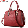 Vogue Star 2017 Hot women handbag crocodile style leather handbag  messenger bag shoulder bag high quality bolsas pouch YB40-431