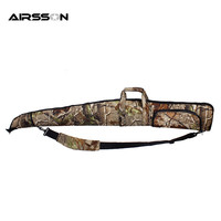 Tactical 135cm Gun Case Oxford Soft Foam Padded Shooting Rifle Gun Protection Bionic Camo Military Airsoft
