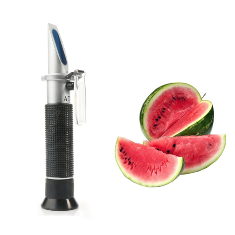 Refractometer Optical Sugar Food Beverages Drink Juice <font><b>ATC</b></font> Content Meter Tool Test Handheld Measuring Tester image