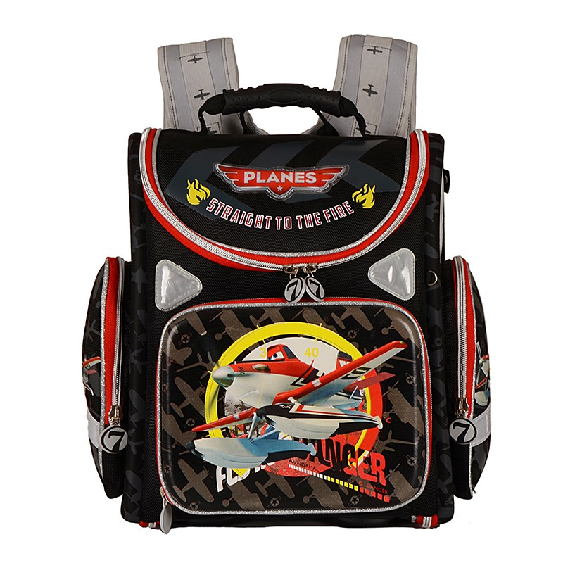 Children School Bags for Boys EVA Folded Orthopedic Spiderman Plane Motorcycle Kids Satchel School Backpack Mochila Infantil kindergarten new kids school backpack monster winx eva folded orthopedic baby school bags for boys and girls mochila infantil