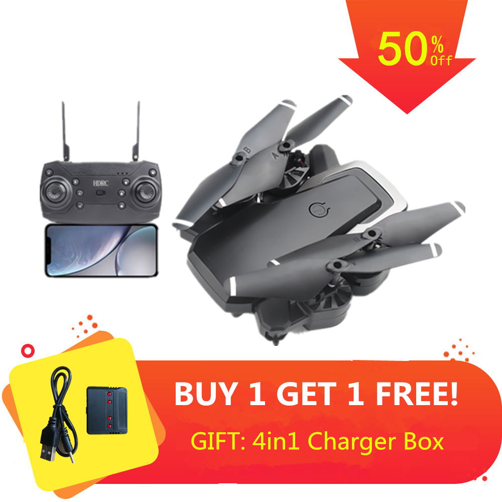 Drone RC avec quadricoptère caméra Wifi 480 P/1080 P avec caméra FPV quadrirotor s hélicoptère RC quadrirotor pliant VS E58 X12 Dron