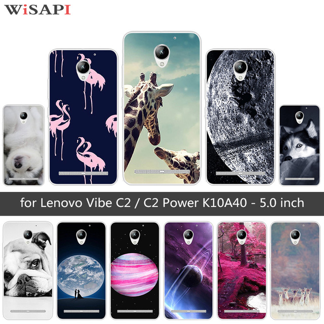 innovative design a0803 ce3de US $0.95 24% OFF|For Lenovo Vibe C2 / C2 Power K10A40 Fundas For Lenovo C2  Back Cover Soft TPU Silicone For Lenovo C2 Prower Doggy Phone Cases-in ...
