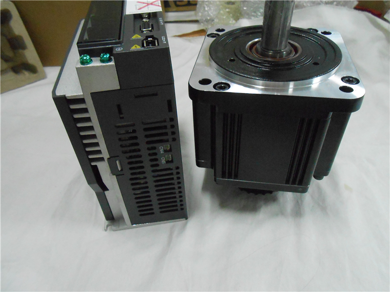 Серводвигатель переменного тока 220В 2кВт Delta Серводвигатель Наборы ЧПУ 100 мм 6.37нм 3000р/мин ECMA C11020RS + ASD A2 2023 L с кабелем 3м