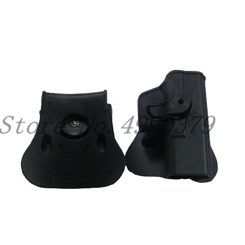 Image 2 - Tactical Hunting IMI Holster Glock 17 19 Belt Loop Paddle Platform Gun Pistol Holsters with Magazine Clip Pouch Hunting Gear-in Holsters from Sports & Entertainment