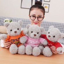 35cm Cute Teddy Bear Doll Soft Plush Toys Stuffed Animal Small Bear Plush Doll Girls Birthday Gift Children Toy 60cm new style lovely teddy bear plush toys stuffed plush doll toy teddy bear children toy girls birthday gift