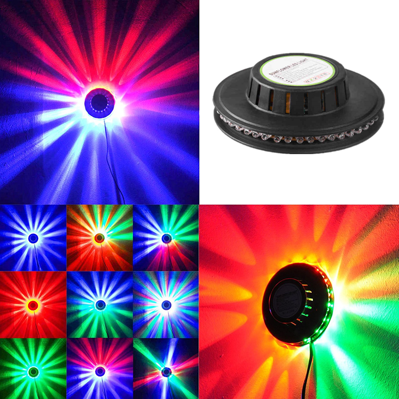 TRANSCTEGO Mini Laser Disco Stage Light 48 Led RGB Proyector - Iluminación comercial - foto 3