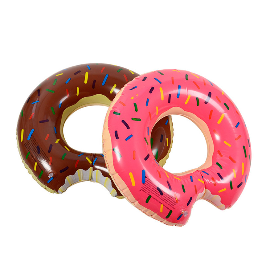 60-80 см надувные Плавание кольцо игрушка открытый летние каникулы надувной бассейн Игрушечные лошадки открытый Забавный подарок для детей п...