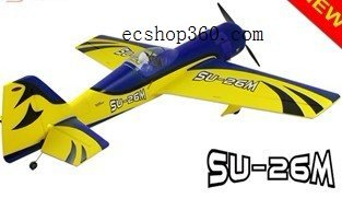 SU 26M foam EPO foam 2 4G RTF rc electric Sporter Airplane 1200mm 47 2in wholesale