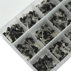 Image 4 - Горячая Распродажа 900 шт. 18 значений биполярный Триод Транзистор TO 92 коробка комплект A1015   2N5551 Оптовая цена новейший DIY светодиодный Комплект Новое поступление