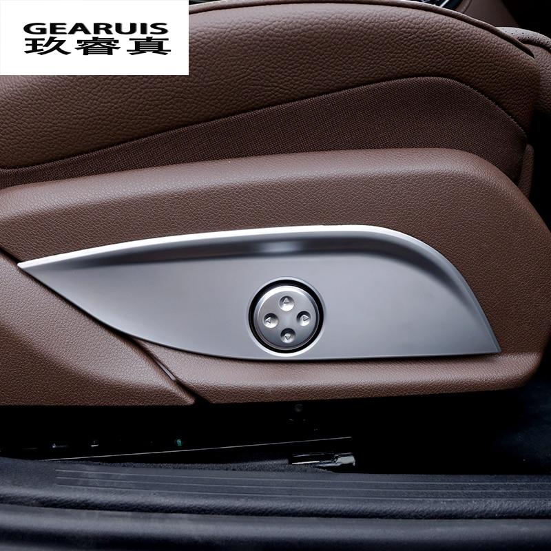 Chrome Headlight Switch Button Cover For Mercedes Benz GLC C E Class W205 W213