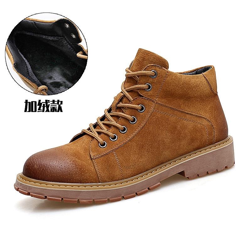 Offerte Nuovi prodotti per uomo autunno e in inverno stivali in vera pelle  Martin stivali 8a3a587c6b2