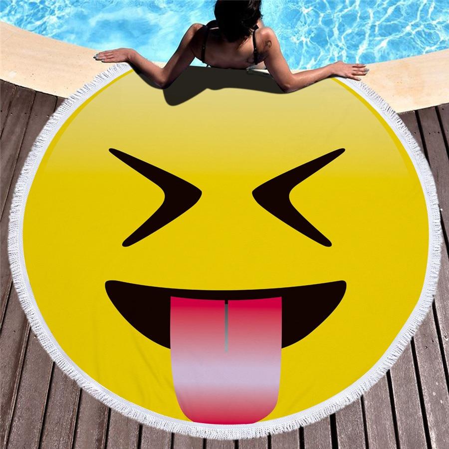 HTB11S8 mRDH8KJjy1zeq6xjepXaH - Emoji Beach Microfiber Towel - MillennialShoppe.com | for Millennials