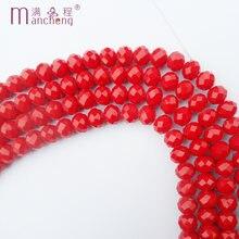 10 мм керамические красные Хрустальные стеклянные бусины Горячие