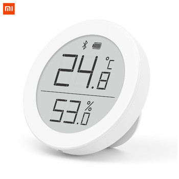 Xiaomi Cleargrass E-Link INK Screen Bluetooth Temperature Smart Humidity Sensor LCD Thermometer Moisture Meter Work Mihome APP Smart Remote Control