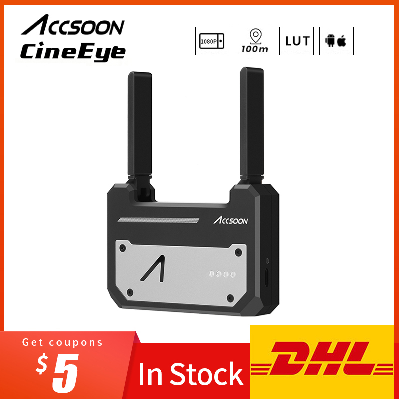 In Stock Accsoon CineEye Wireless 5G 1080P HDMI Mini Transmission Device Video Transmitter For IOS iPhone