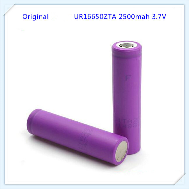 Original For Sanyo UR16650ZTA Lithium Ion Battery 16650 3.7V Rechargeable Battery 2500mah 16650 Battery(1pc)