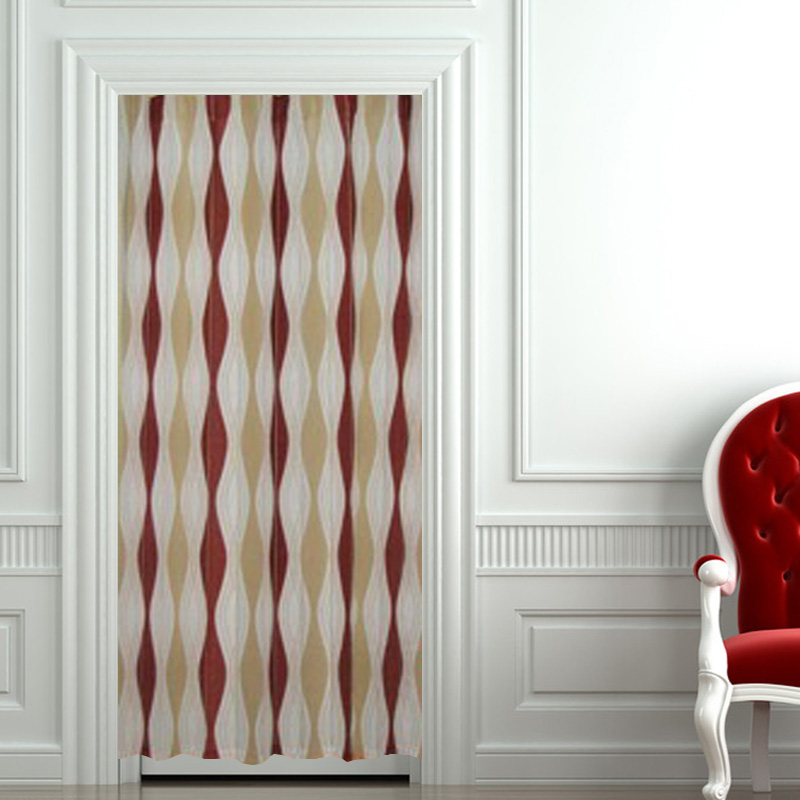morden curve blinds curtains cloth fabric blinds japanese style ...
