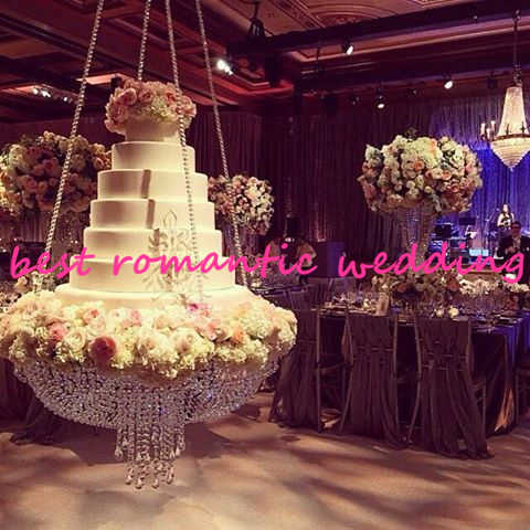 Brilliant Wedding Hanging Cake Stand Elegant Swing Wedding Centerpiece Weddings Decor Wedding Cake Chandeliers Download Free Architecture Designs Grimeyleaguecom
