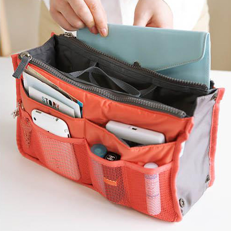 Nylon Cosmetic Bag Female Makeup Bags Organizer Men Women Travel Beauty Bags Lady Toiletry bag kits Storage Travel Wash pouch